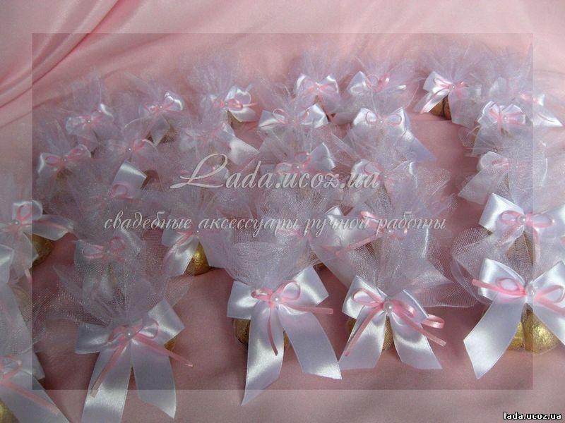 Бонбоньерки на свадьбу своими руками из фатина